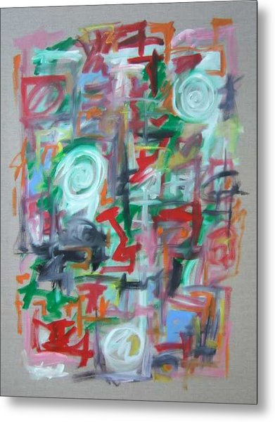 Large Abstract No 2 Metal Print by Michael Henderson