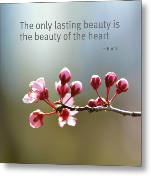 Lasting Beauty Metal Print