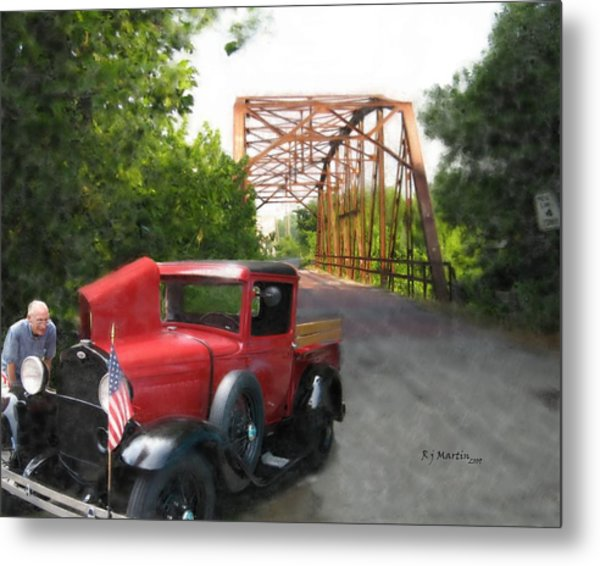 Late For The Parade Metal Print