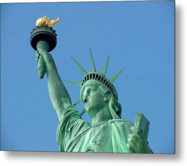 Liberty Stand Tall Metal Print