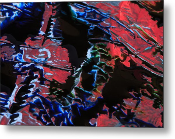Light Metal 7 Metal Print by Chris Rodenberg