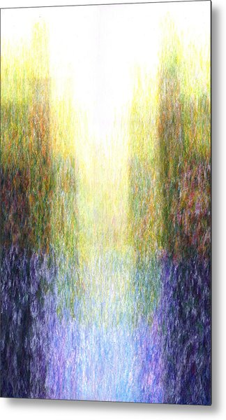 Light Picture 221 Metal Print