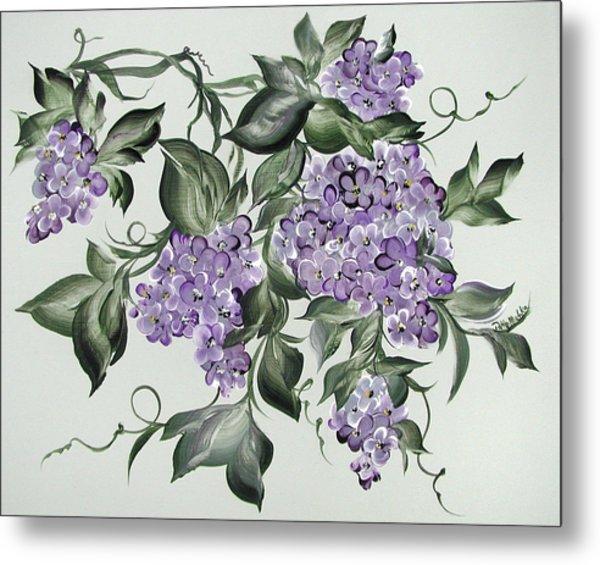 Lilac's Splendor Metal Print by Patty Muchka