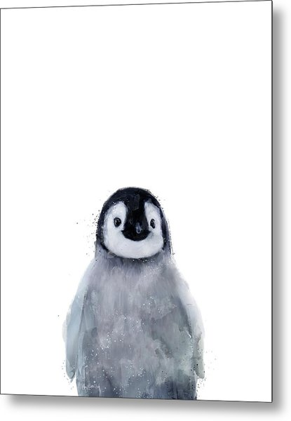 Little Penguin Metal Print