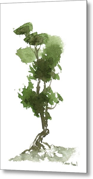 Little Zen Tree 186 Metal Print
