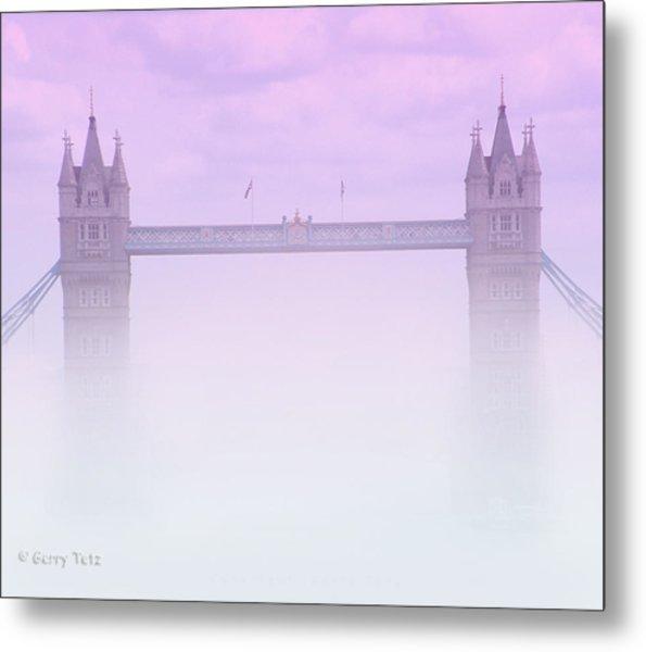 London Fog Metal Print