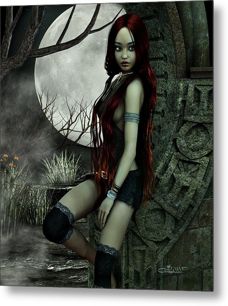 Lonesome Night Metal Print