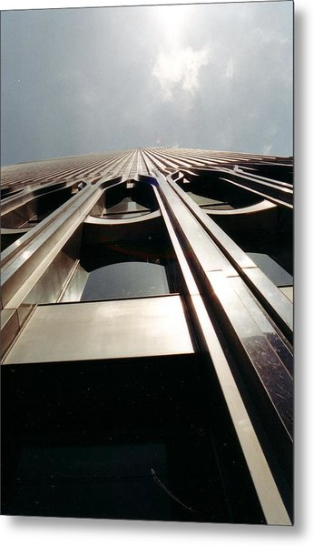 Looking Up Metal Print by April Camenisch