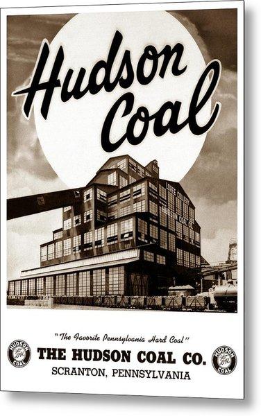 Loree Colliery Larksville Pa. Hudson Coal Co  Metal Print