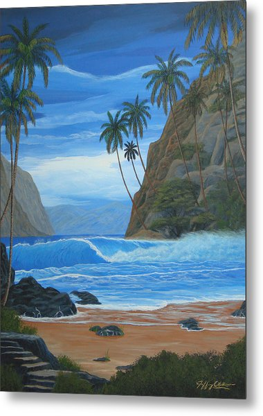 Lost In Paradise Metal Print by Jeffrey Oldham