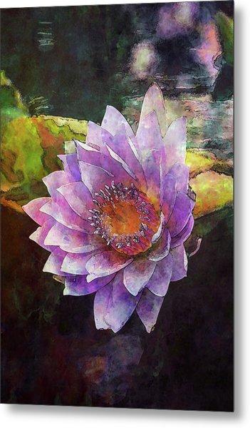 Lost Lavender Lotus Blossom 4725 Ldp_2 Metal Print