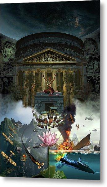 Lotus Eaters Metal Print by Kurt Miller