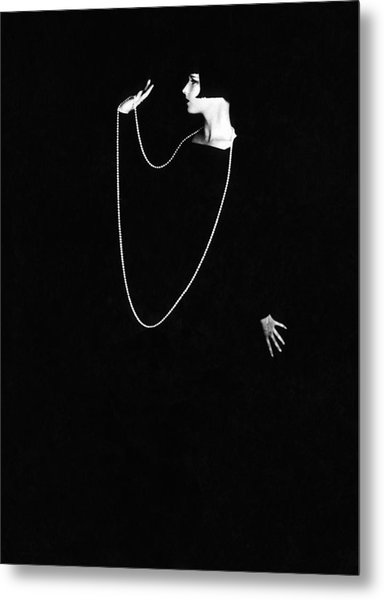 Louise Brooks, Photo By Ruth Harriet Metal Print