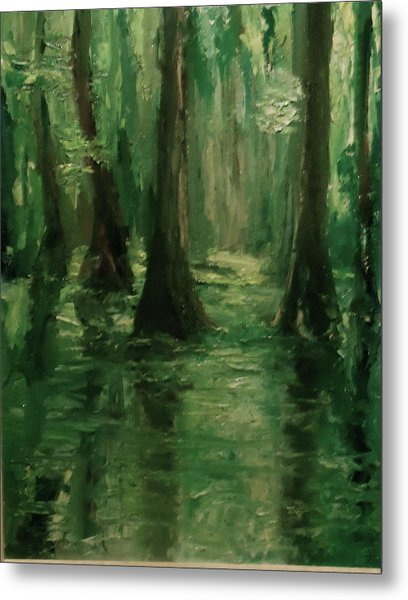 Louisiana Swamp Metal Print
