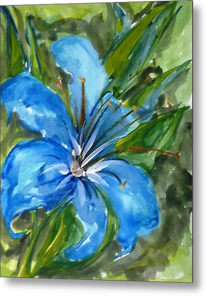 Love Flowerts Metal Print by Baljit Chadha