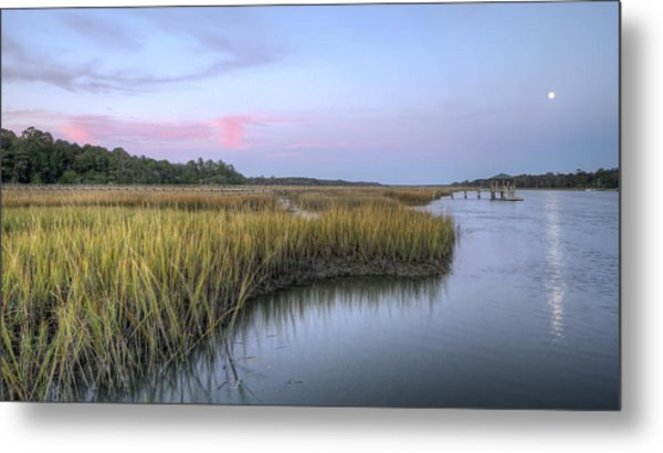 Lowcountry Marsh Grass On The Bohicket Metal Print