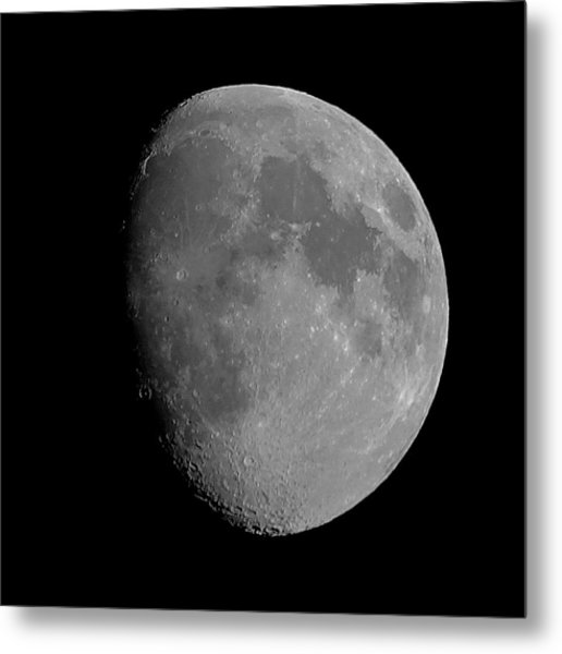 Lunarcy Over Cape Cod Canal Metal Print