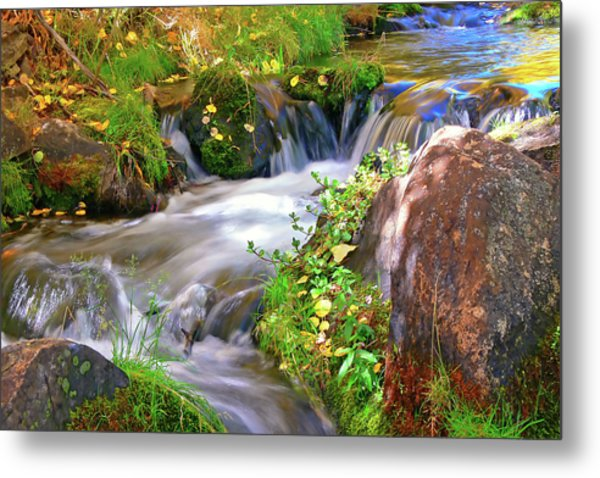 Lundy Creek Metal Print