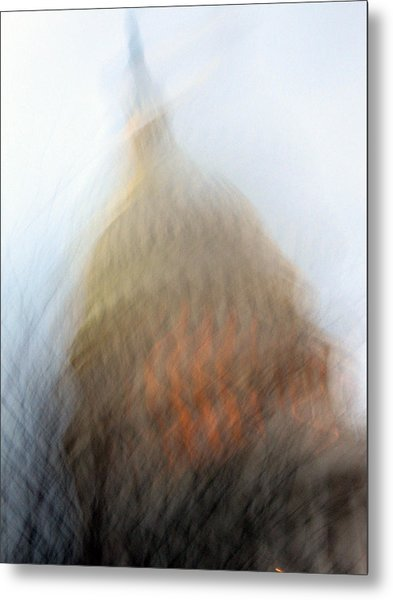 Mad Capitol Metal Print by Sean Owens