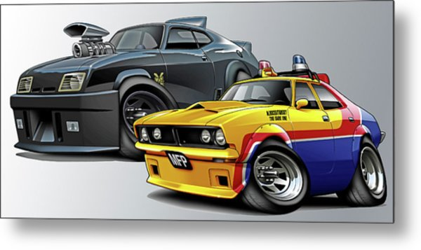 Mad Max Falcon And Interceptor Digital Art By Maddmax