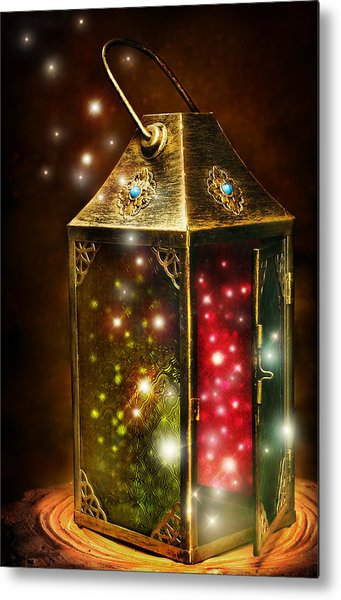 Magic Lantern Metal Print