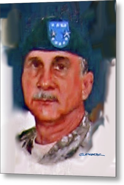Major General William H. Wade II Metal Print