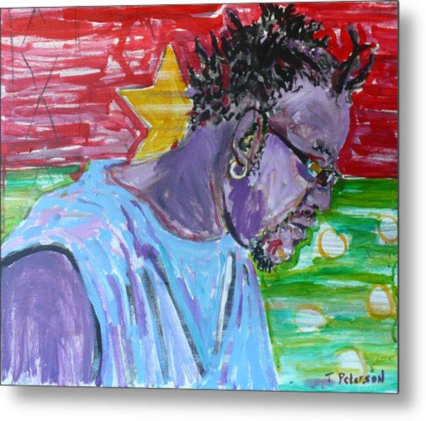 Man From Burkina Faso Metal Print