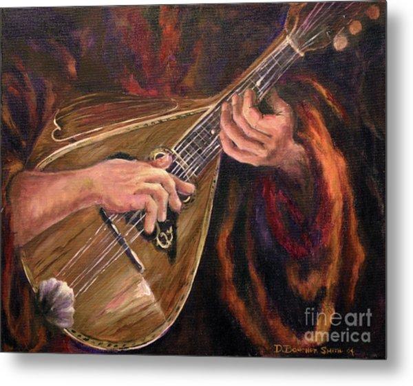 Mandolin Metal Print by Deborah Smith
