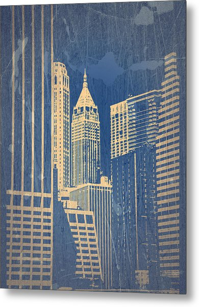 Manhattan 1 Metal Print