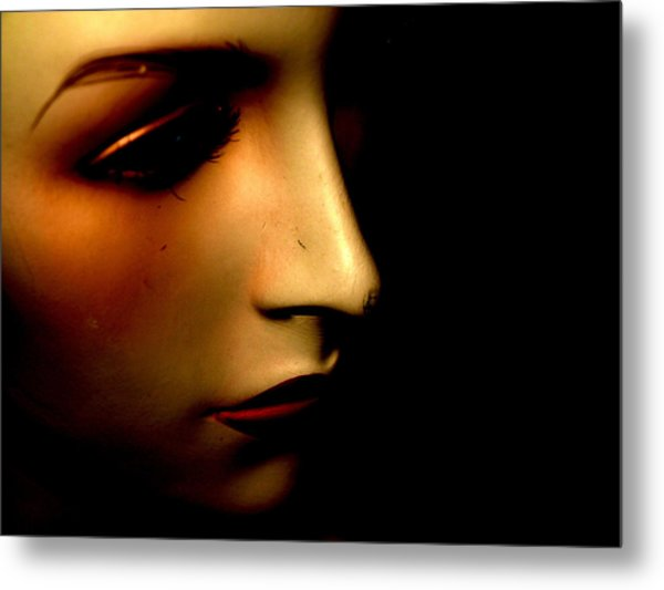 Mannequin Metal Print by Angela Conway