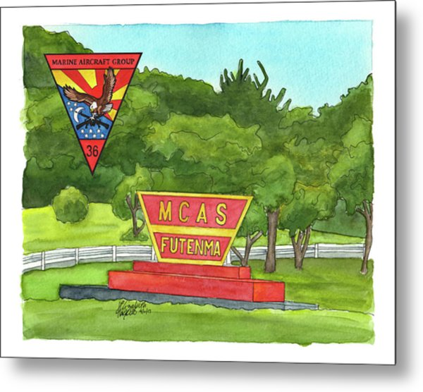 Marine Aircraft Group At Mcas Futenma Metal Print