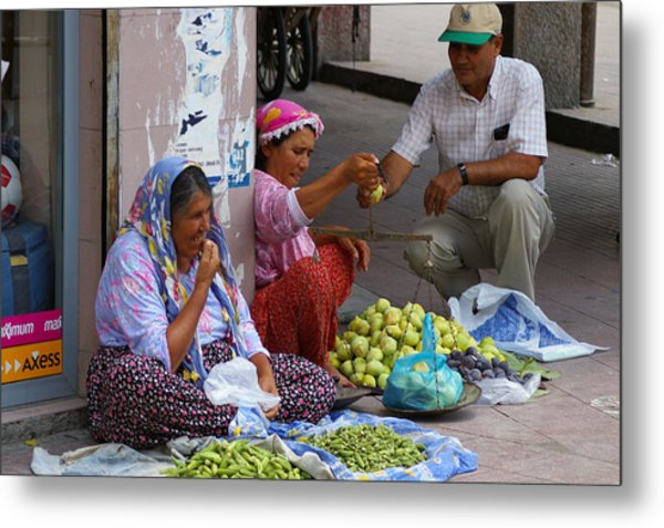 Market Day Metal Print by Don Prioleau