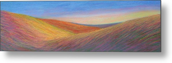 Marshall Sunset Metal Print by Lucinda  Hansen