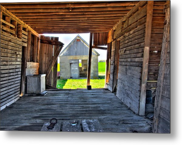 Maryland Barn Metal Print