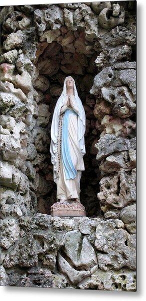 Marys Prayer Metal Print