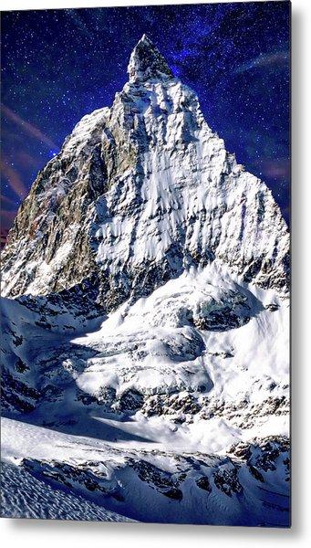 Matterhorn At Twilight Metal Print