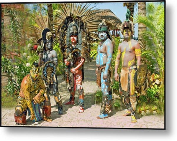 Mayans Metal Print by Jorge Gaete
