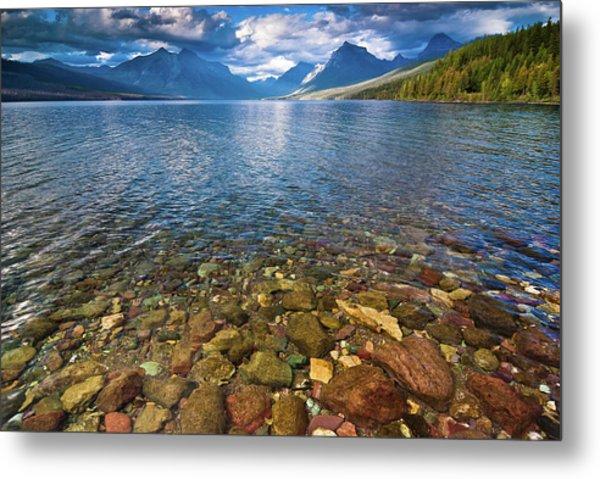 Mcdonald Lake Colors Metal Print