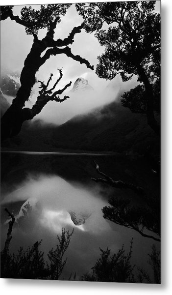 Mckenzie Reflection Metal Print by Karl Manteuffel