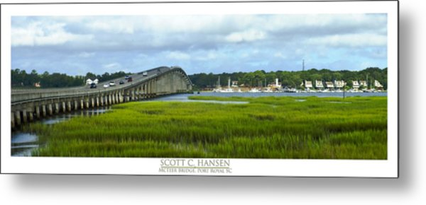 Mcteer Bridge Metal Print