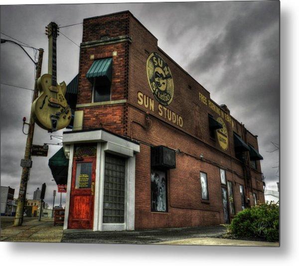 Memphis - Sun Studio 001 Metal Print