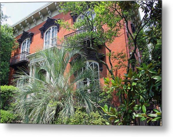 Mercer Williams House-savannah Ga Metal Print