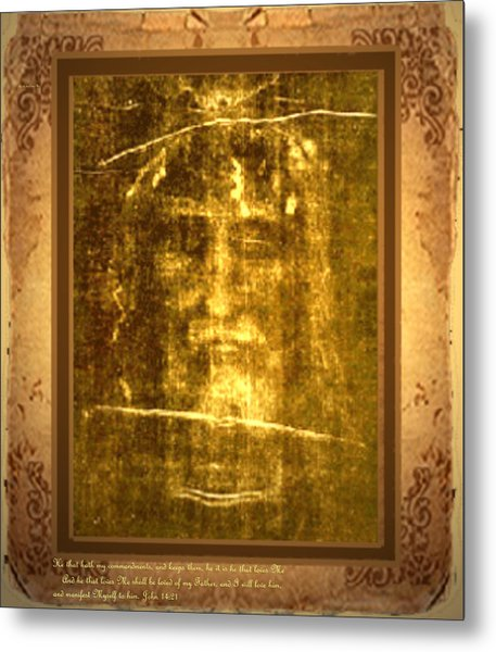 Messiah Manifested Metal Print