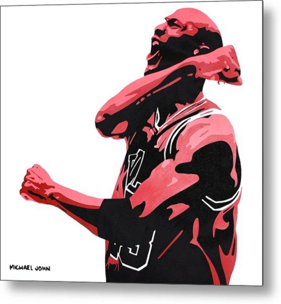 Michael Jordan Metal Print
