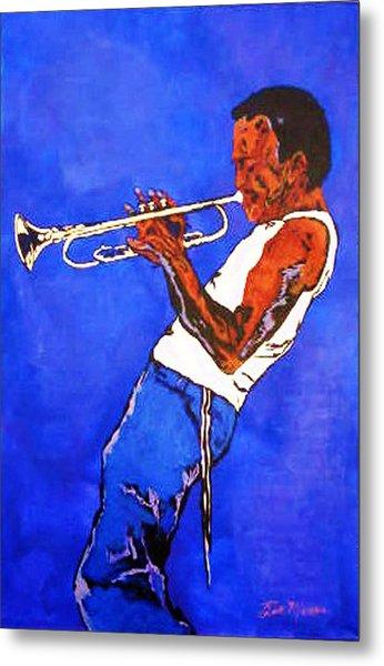 Miles Davis-miles And Miles Away Metal Print