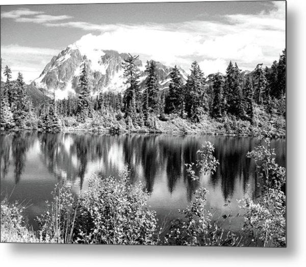 Mirror Lake Metal Print