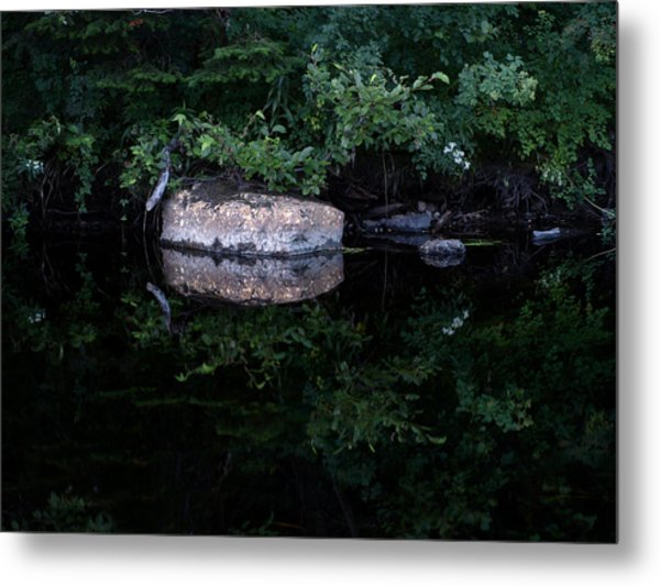 Mirrored Metal Print by Stan Wojtaszek