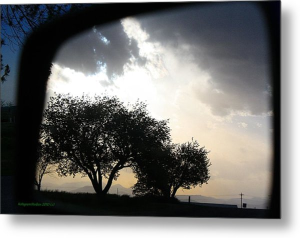 Mirrored Sunset Metal Print by KatagramStudios Photography