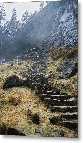 Mist Trail Metal Print by Richard Verkuyl
