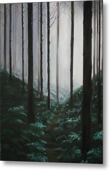 Mists Of Past Times Metal Print by Maren Jeskanen